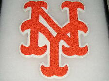 Vintage New York NY Orange Embroidery Applique Patch