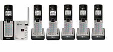 AT&T TL92273 DECT 6.0 Connect to Cell BLUETOOTH 6 Handset Cordless Phone System