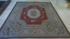 "Handmade Tapestry Weave Aubusson ""Josephine"" Wool (Not NeedlePoint) 8x10"
