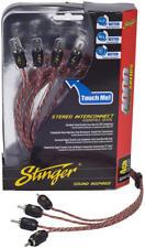 Stinger Si4420 audio RCA cable de Interconexión 4 canales 4000 series 6.1m m