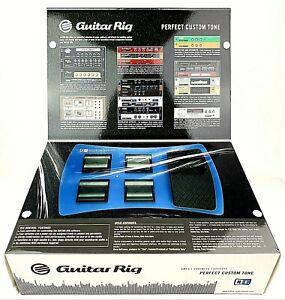 Native Instruments Kontrol Guitar Rig Amp Modelling Software & Foot Controller