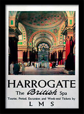 Harrogate The British Spa - Encadré 30 X 40 Officiel Imprimé