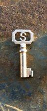Original Antique  Steel Barrel  Key for Stoddard Hasp Lock