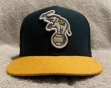 Oakland Athletics Batting Practice New Era 59Fifty Fitted Hat Size 7 1/8 EUC