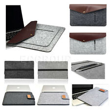 """For 11.6""""-12.5"""" inch Laptop Notebook Slim Carry Case Pouch Wool Felt Sleeve Bag"""