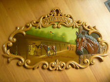 "grand tableau  country corner ""STUD FARM"" collector RARE!"
