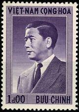 VIETNAM DU SUD 1956 Président Ngo Dinh Diem YT n° 44 neuf ★★ Luxe /MNH