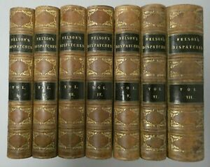 The Dispatches and Letters of Vice Admiral Lord Viscount Nelson 7 Vol.1845M-3832