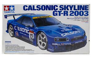 1/24 Tamiya Calsonic Skyline GT-R 2003 Sports Car Series 24272