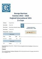 GEORGE HARRISON EVERTON 1913-1923 EXTREMELY RARE ORIGINAL HAND SIGNED CUTTING