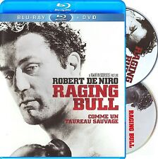RAGING BULL (SCORSESE, DE NIRO) - 30TH ANNIVERSARY *NEW BLU-RAY + DVD*