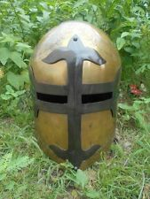 MEDIEVAL COLLECTIBLES SUGAR LOAF ARMOUR KNIGHT SPARTAN HELMET GIFT REPLICA