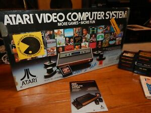 Original Atari 2600 Complete in Box with 15 Games