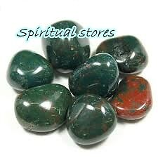 BloodStone Stone tumbles - 100 Grams - minimizes aggressiveness, impatience etc