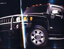 2007 Hummer H3X 3-panel Original Advertisement Print Art Car Ad J964
