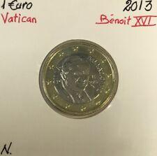 Vatican - 1 Euro 2013 - Pape Benoît XVI // Qualité : NEUVE