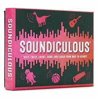Soundiculous: The Hilarious Pocketsize Party Game of Ridiculous Sounds That Gets