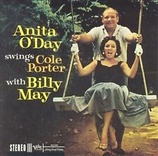 1 CENT CD Anita O'Day Swings Cole Porter with Billy May