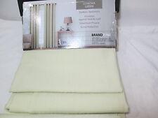 Brand Zone Thermal Coating Grommet Window Panels 2(40x84) Corona Sage Green NEW