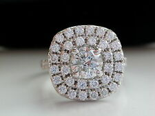 BIG DIAMOND RING + DIAMOND HALO RING + 2ct DIAMOND RING + DIAMOND CLUSTER RING