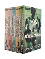 Charlie Higson Young Bond Series 5 Books Silverfin  Adventure Thriller New