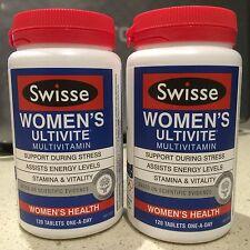 Swisse Women's Ultivite multivitamins - 2 x 120 Tablets(TWIN)-Fast FREE delivery