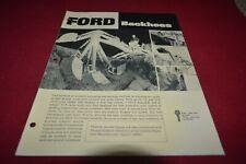 Ford Tractor Backhoes Dealer's Brochure AMIL15