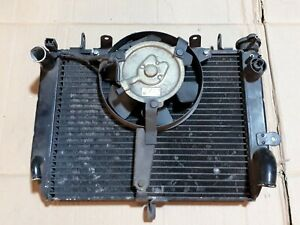 Yamaha R6 5eb 1999-2002 Radiator/cooling fan/ thermo switch and cap.