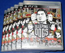 Lot of 6 Sleeping Dogs PlayStation 3 *Factory Sealed! *Free Shipping!