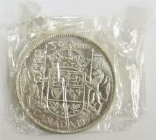 1952 Canada 50 cents sealed in original plastic from Royal CDN Mint set MS65