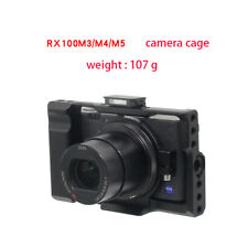 for Sony RX100 M2 M3 M4 M5 Camera Cage Kit Lightest Weight 107g Aluminum Alloy