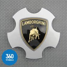 1 X Nuevo Original Lamborghini Centro Tapa Plata Gallardo Callisto Apollo Hub