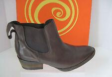 Gabriella Rocha Shetland Brown Vintage Leather  Ankle Boot Sz 6.5