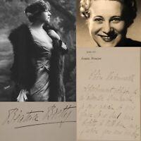 🌓 LAS Béatrice BRETTY à Berthe CERNY Comédie Française 1920 pièce Maman Colibri