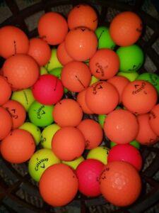 50 CALLAWAY SUPERSOFT MATTE GOLF BALLS AAAAA/AAA