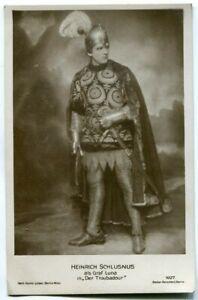 Foto-Ak Perscheid Rollenfoto Heinrich Schlusnus Graf Luna ca. 1919 Leiser 1027
