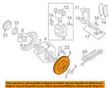 MAZDA OEM 03-09 B4000 Front Brake-Disc Rotor 1F6033251B