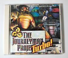 The Journeyman Project Turbo PC Game LN WORLDWIDE SHIP