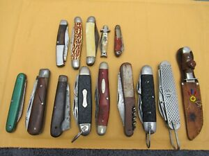 VINTAGE POCKET KNIFE LOT