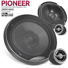 "New Original Pioneer TS-G1605C 280W 16cm 6"" Car Component Set Speaker System"
