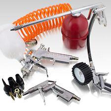 13 tlg. Druckluft Zubehör Set für Kompressor Reifendruck Sprühpistole Lackieren