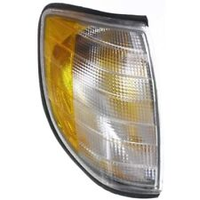 For S420 95-99, Passenger Side Parking Light, Clear and Amber Lens