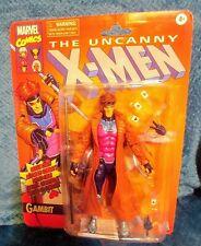 "Marvel Comics Gambit 6"" Inch Figure The Uncanny X-Men Remy Etienne LeBeau Hasbro"