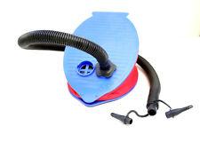 Bestway Foot Pump  3 Valve Adapters Mattress Rafts Inflator