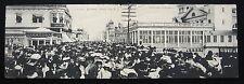 1905 FOLD-OUT Panoramic Postcard ~ BOARDWALK, Atlantic City ~ Undivided Back