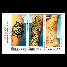 Aland 2006 - Tattoos Culrure People - Sc 250 MNH