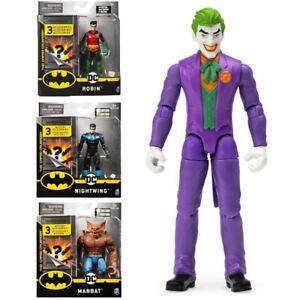 PERSONAGGIO 10 CM DC BATMAN THE CAPED CRUSADER CON 3 ACCESSORI SPIN MASTER 60585
