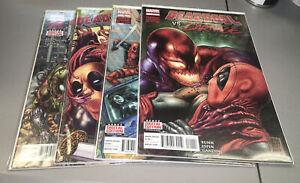Deadpool vs Carnage #1-4 Complete Marvel Full Run 1st Print 1 2 3 4