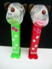 **NEW RELEASE**BARKY BROWN Pez 2019 Crystal VALENTINE set-FAST $3.99 US Ship