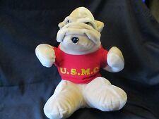 Rare - Usmc Bulldog Mary Meyer Plush Stuffed Toy United States Marine Corps
